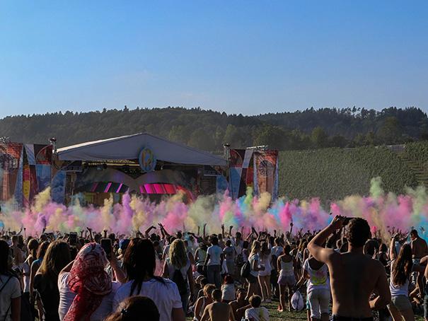 Festival bunt